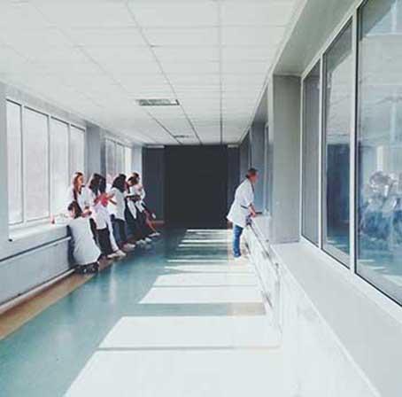 Limpieza de hospitales en la Comunidad de Madrid