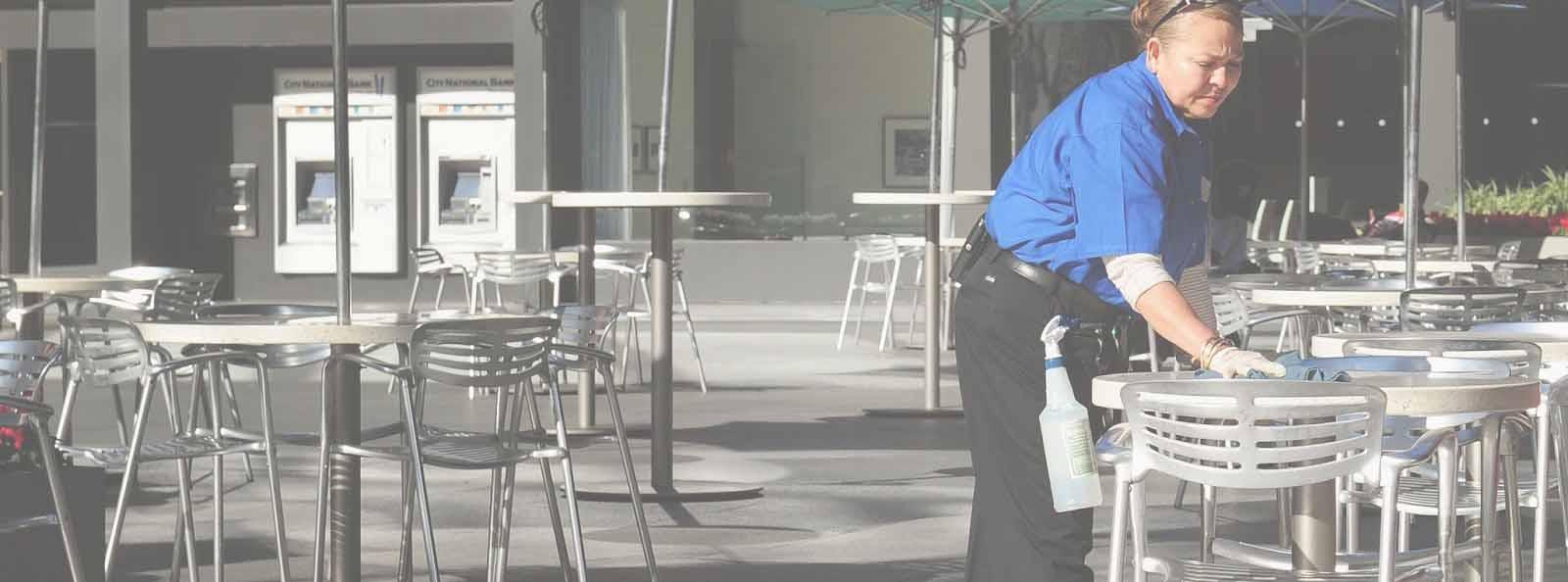 limpiar restaurantes