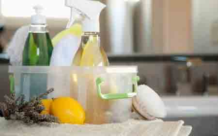 limpieza del hogar con productos naturales